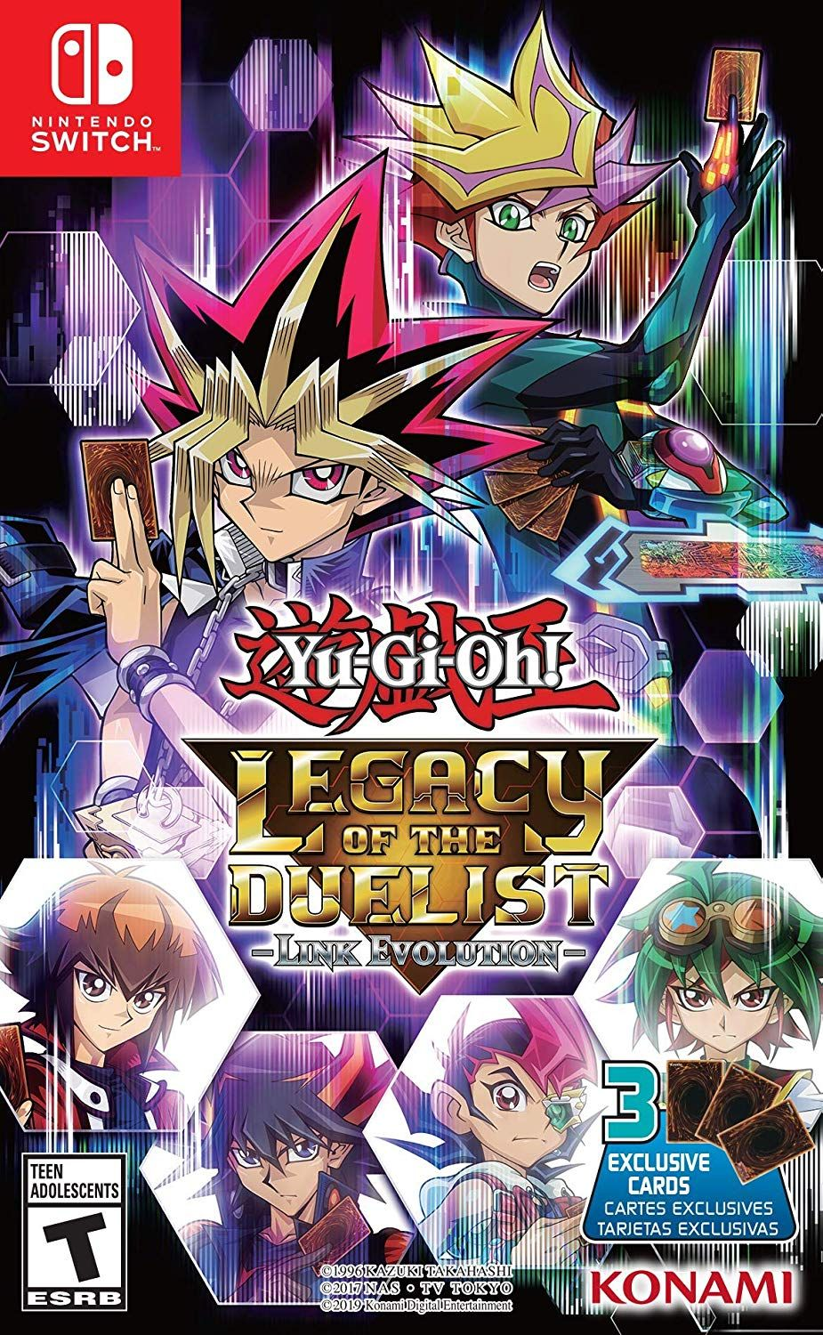 The YuGiOh! TRADING CARD GAME arrives for the first time