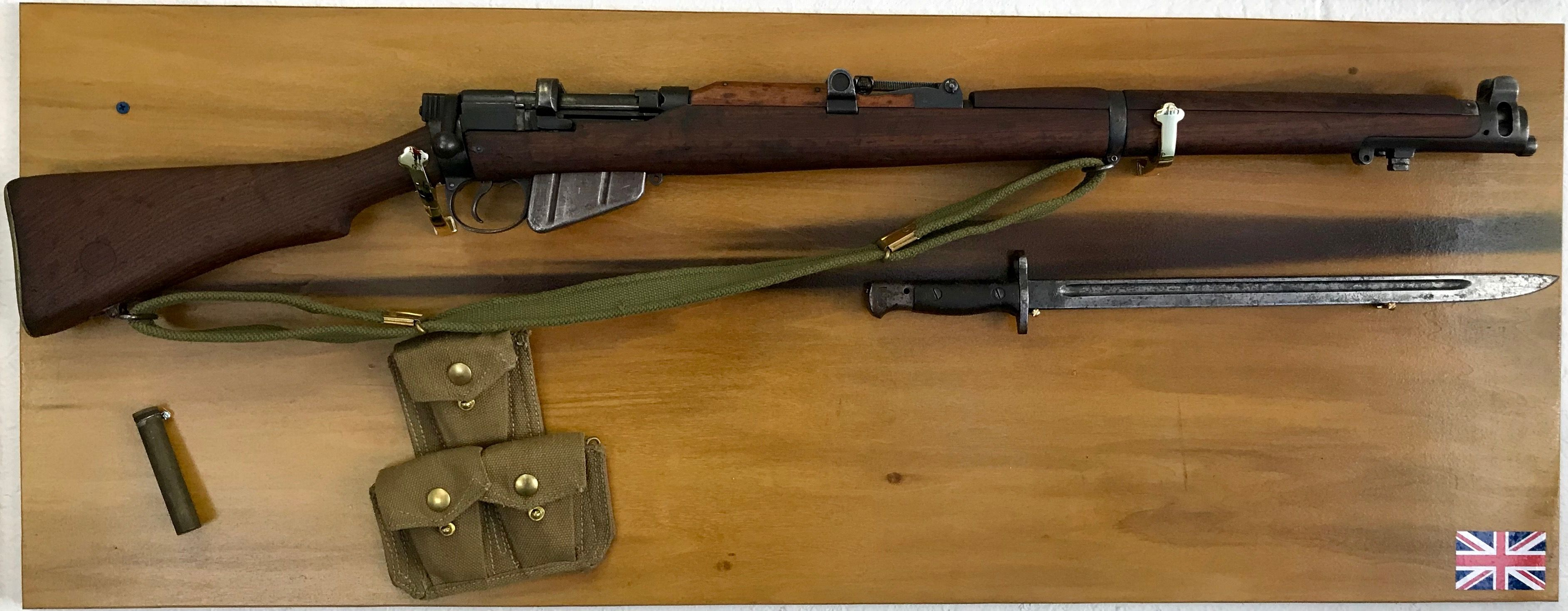British Lee Enfield No 1 Mk III - WWII Rifle - Ammo:  303