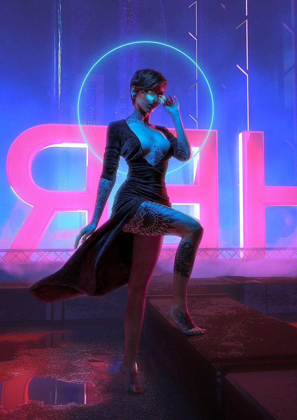 NEON WITCHES Calendar 2020 in 2020 Cyberpunk fashion