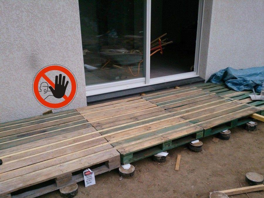 Faire Une Terrasse En Palette Blog Deco Avec Images Patio Diy Terrasse Palette Patio En Bois