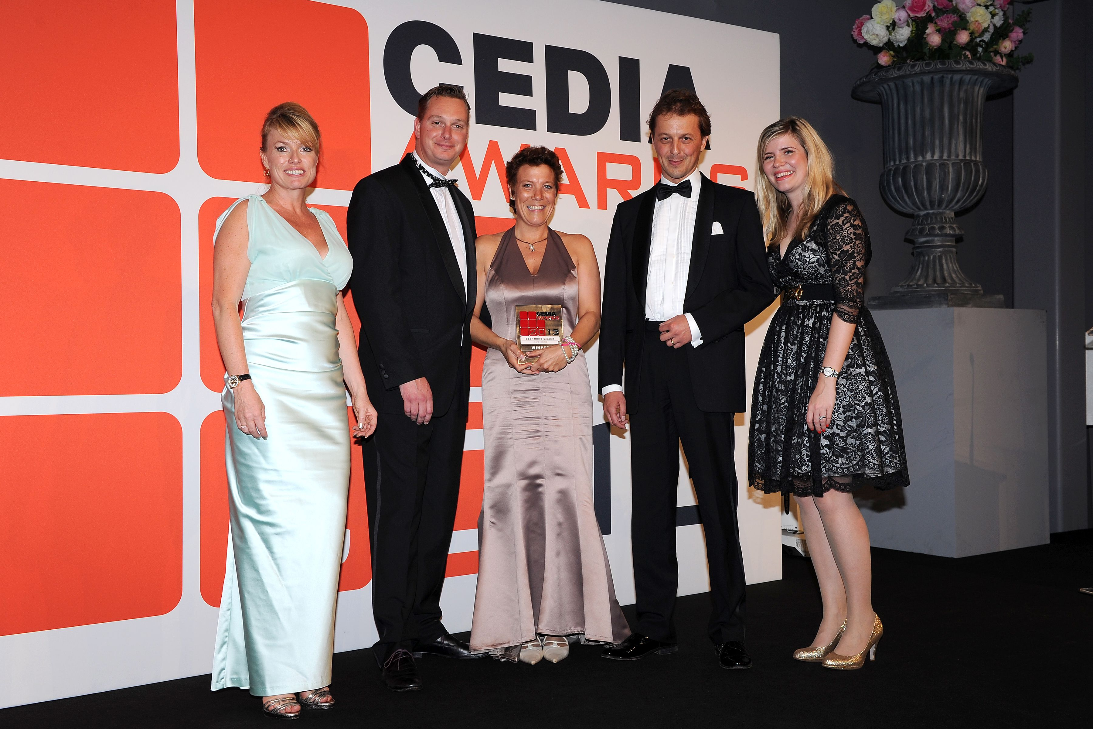 Cedia awards 2013 de opera domotica joint winner best home cinema