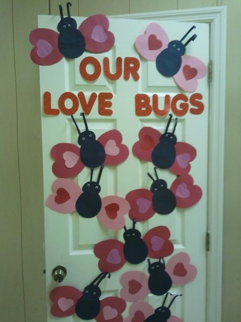 Valentines Day Decoration Our Love Bugs For The Classroom Doors