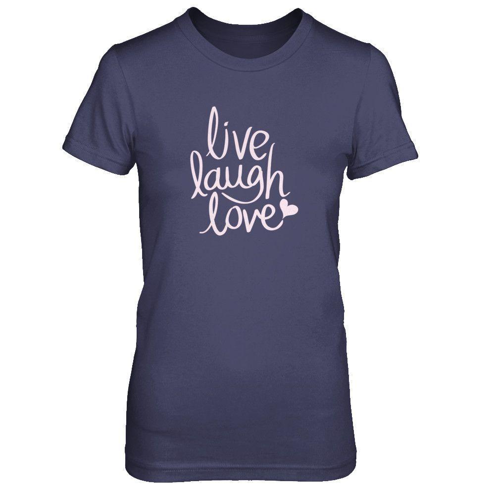 Jaxson & Co. - Live Laugh Love Women's T-Shirt
