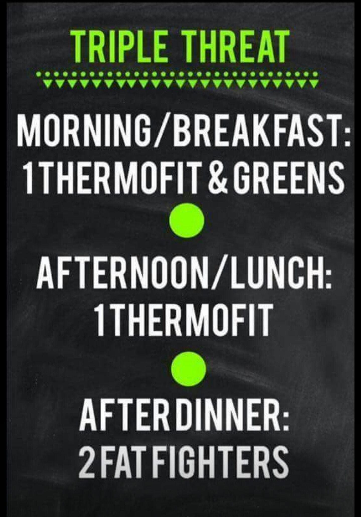 it works triple threat amazing way to lose weight and add energy