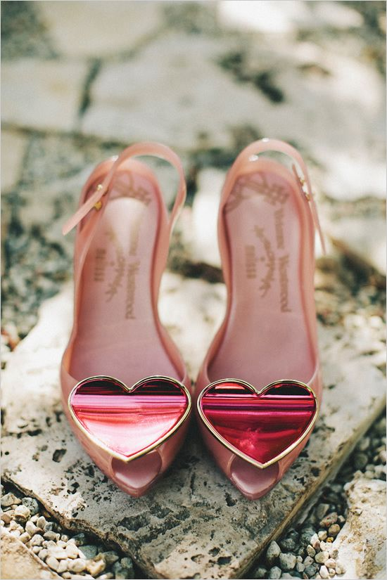 According To A Williams The Best 2nd Anniversary Gift Is Funfetti Heart Shoes Vivienne Westwood Shoes Me Too Shoes