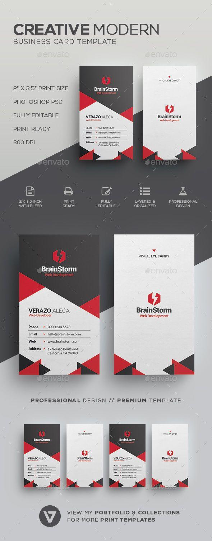 Modern vertical business card creative business cards download modern vertical business card creative business cards download here httpsgraphicriver reheart Images