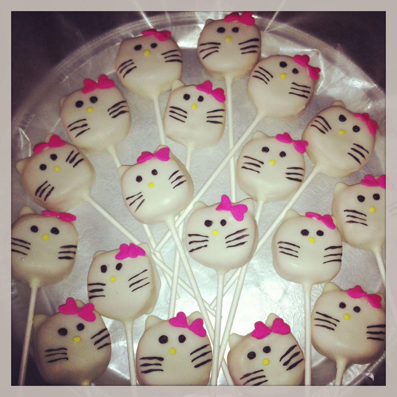 Hello Kitty Cake pops!!