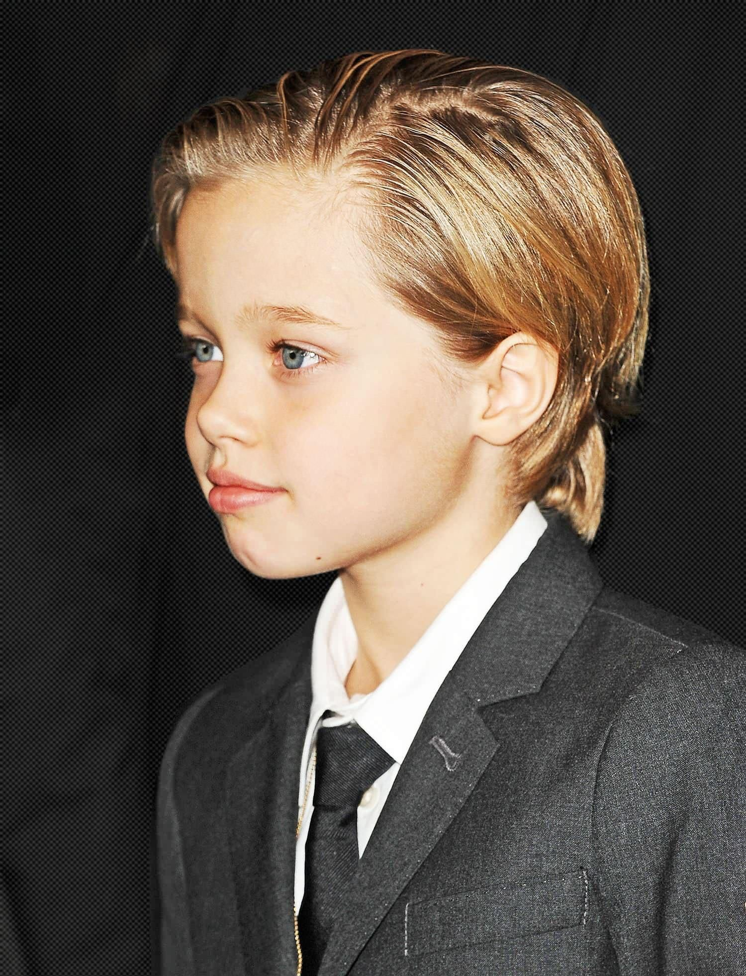 Shiloh Jolie Pitt Steals The Spotlight In A Suit News To Me