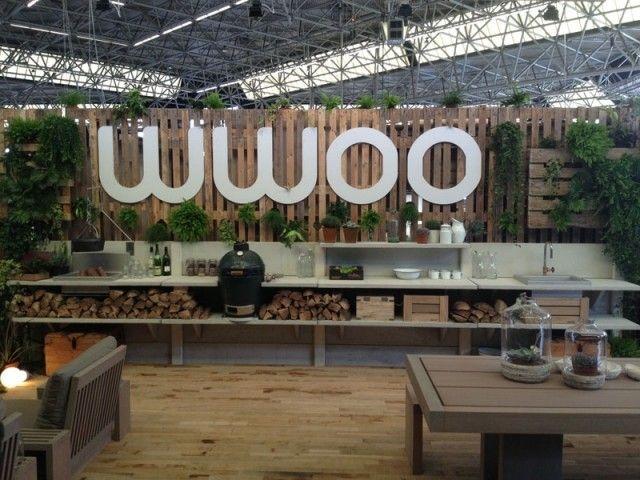Outdoor Küche Wwoo : Wwoo außenküche mit grill beton module regale ablagefläche