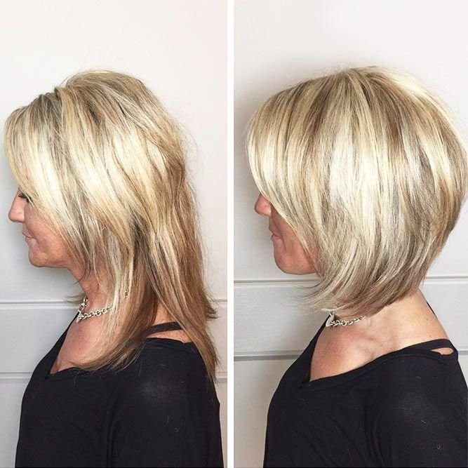 50 Amazing and Awe-Inspiring Asymmetrical Bobs en 2020   Coiffures cheveux courts, Coupe cheveux ...