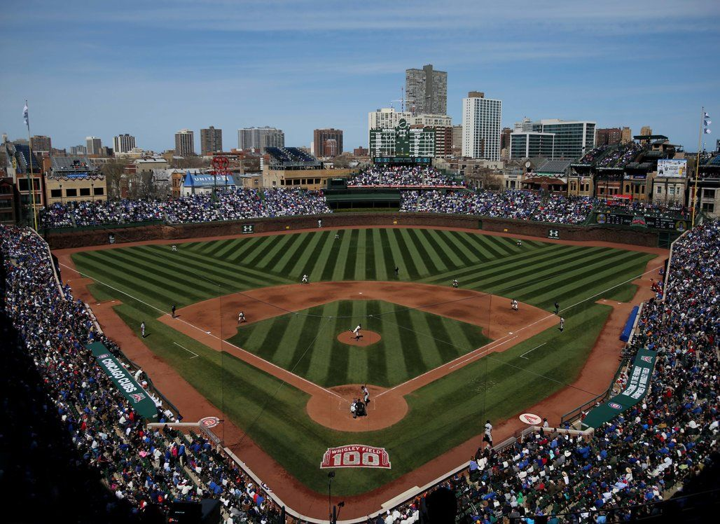 Chicago Cubs Unveil New Logo For 2016 Chicago Cubs Wallpaper Chicago Cubs Wrigley Field