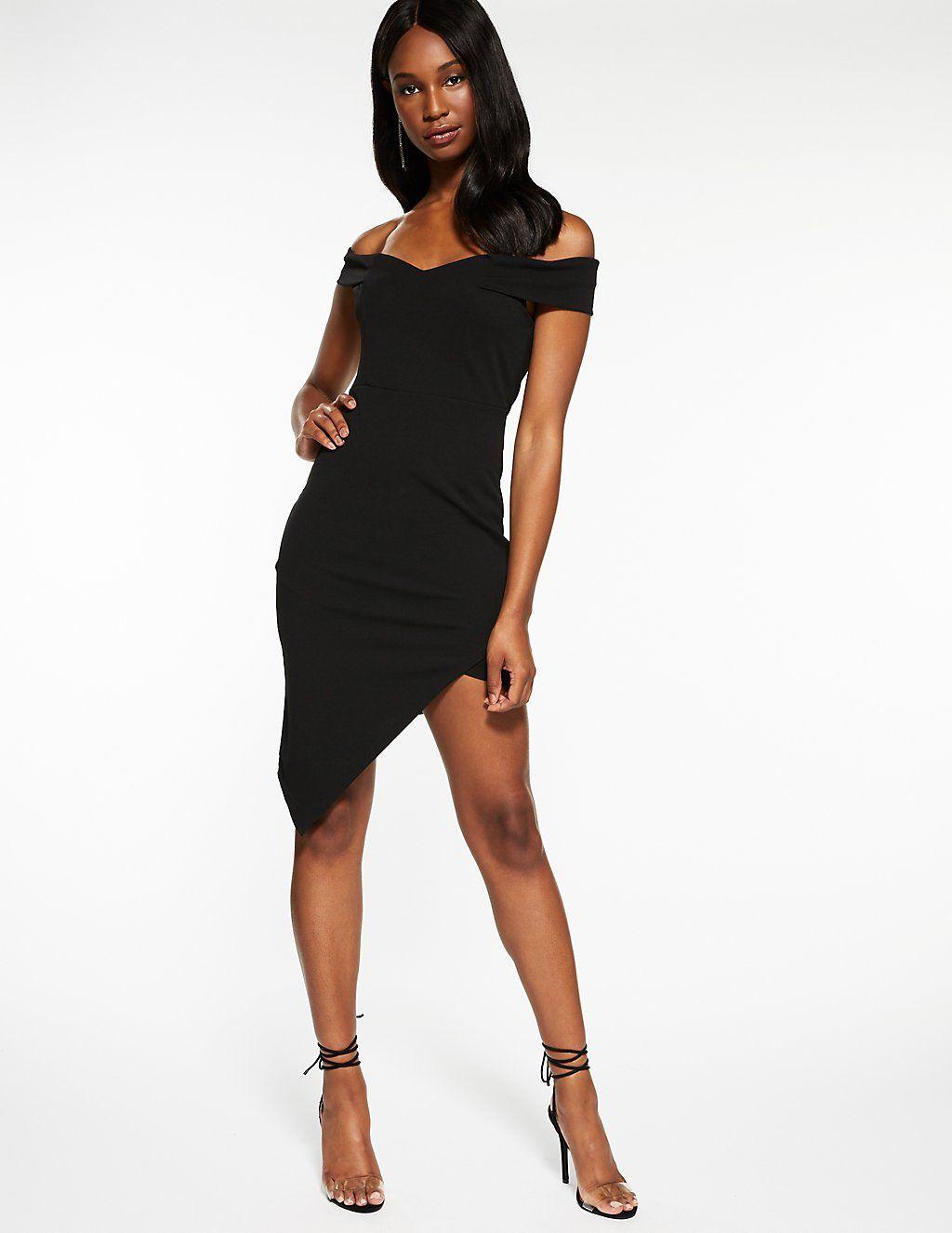 0fe1d63e0 Off The Shoulder Asymmetrical Dress | Birthday/ Christmas List 2018 ...