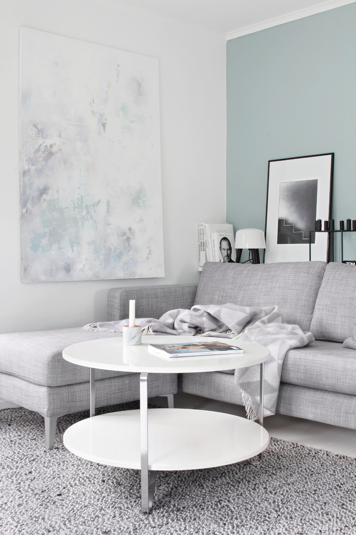 Duck Egg Blue And Grey Walls