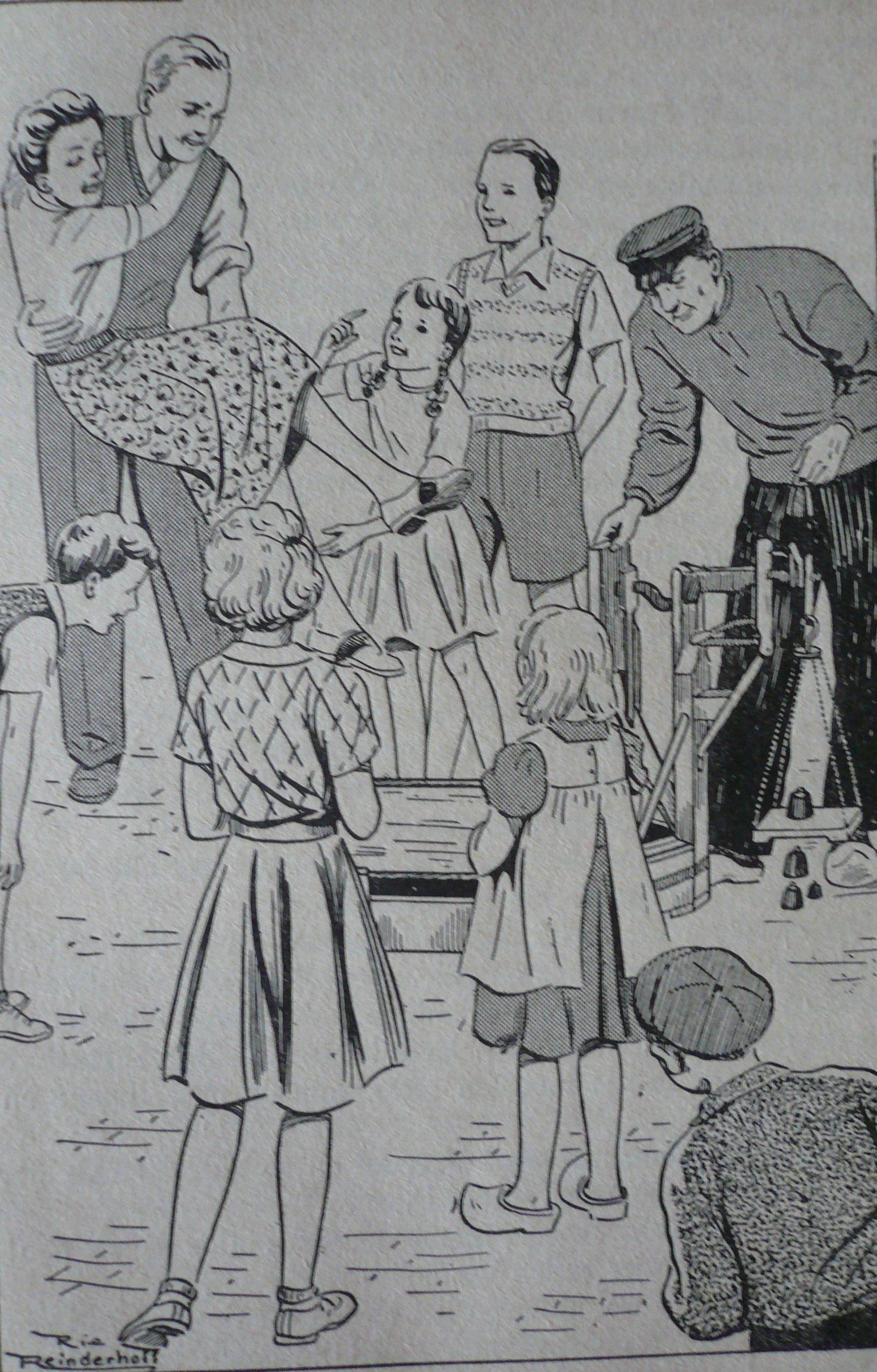 Max De Lange Praamsma Annewieke Rie Reinderhoff Illustraties G F Callenbach Nv Uitgever Nijkerk Derde Druk Kinderboeken Oude Boeken Illustraties