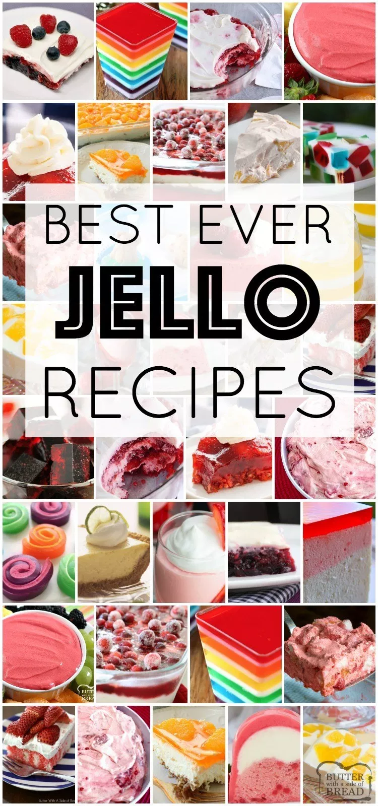 Best Jello Recipes Ever All Gathered In One Place Jello Recipes For Holidays Parties Dessert And More We C Jello Recipes Jello Dessert Recipes Jello Salad