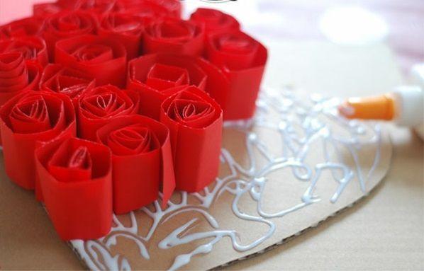 Basteln zum Valentinstag - liebevolle DIY Projekte fürs Zuhause