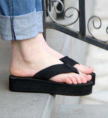 platform flip flops | Flip flop shoes