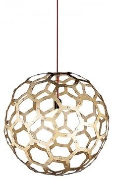 Soccer Ball Wooden Designer Modern Pendant Lighting Modern Pendant Lighting Parrotuncle