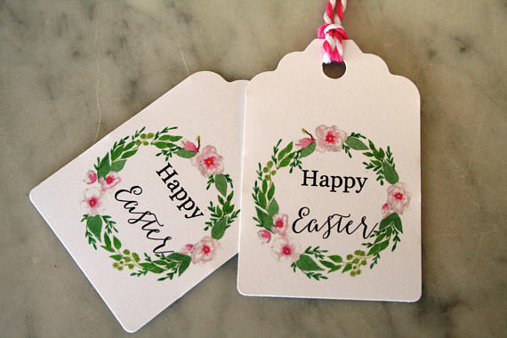 Easter gift tags tags pinterest easter and gift easter gift tags negle Gallery