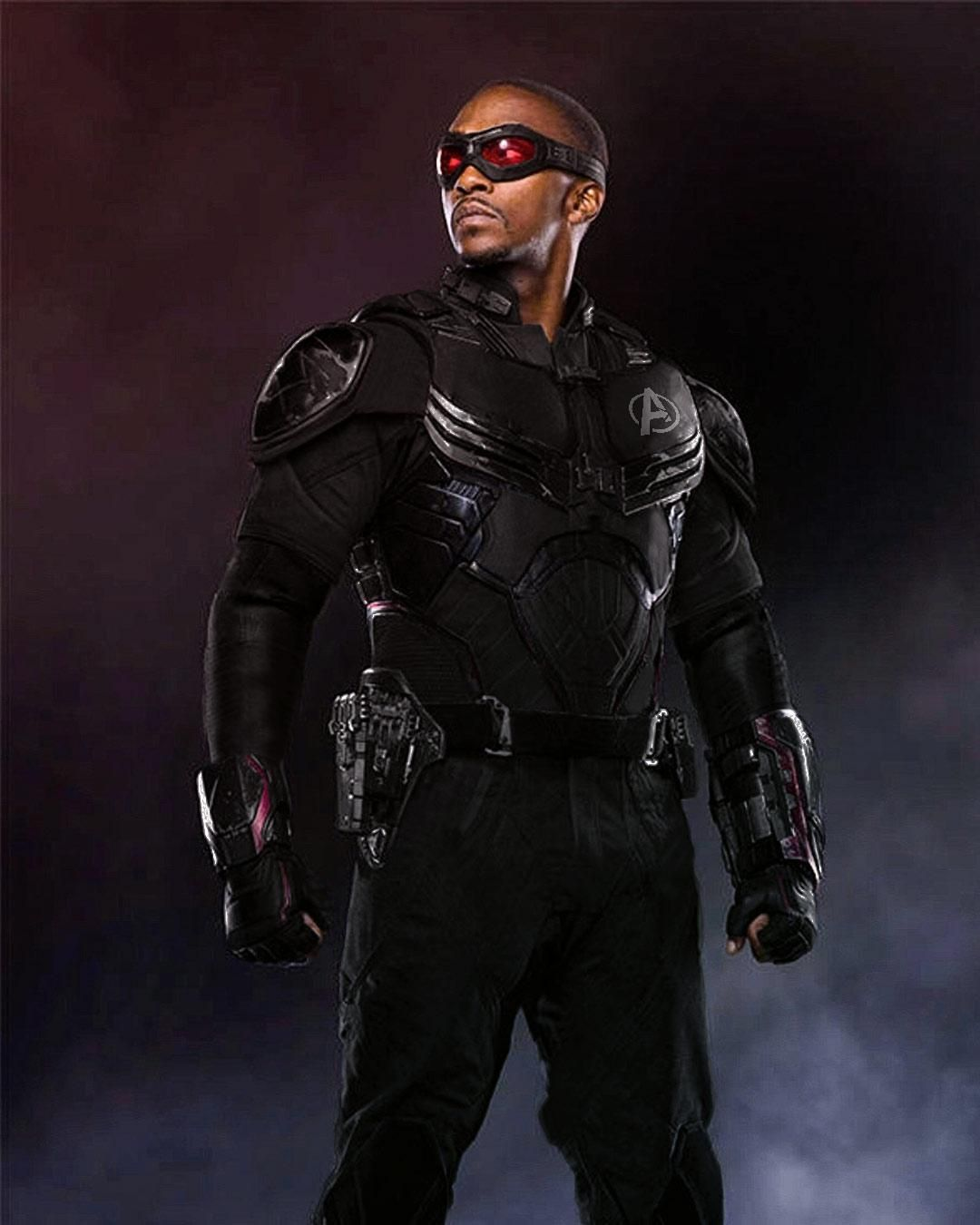 Falcon Stealth Suit By Rahalarts With Images Falcon Marvel