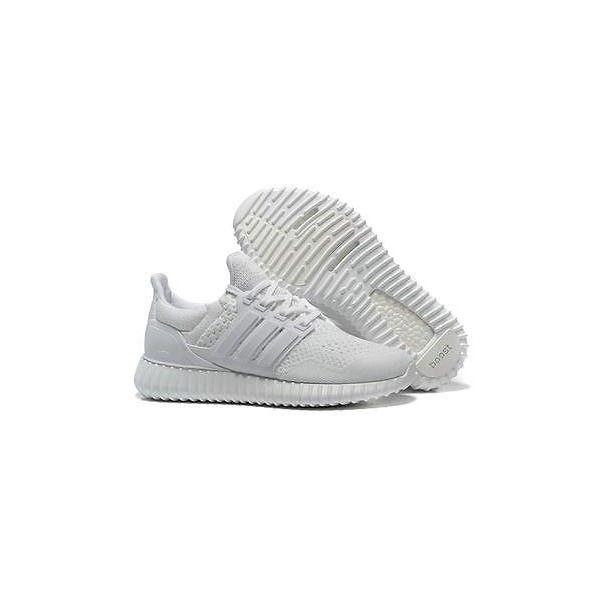 buy popular 254ab 9a60c Adidas Ultra Boost Custom Yeezy David Beckham Prototype Rare... ❤ liked on  Polyvore featuring home, home decor, white home accessories and white home  decor