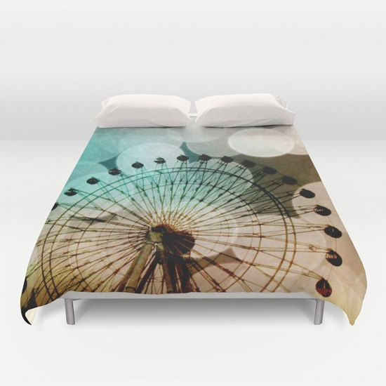 Art Duvet Cover At the Fair fine art by SylviaCPhotography on Etsy