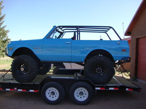 1972 Chevy Blazer Does Big Correctly With Images Chevy Chevy