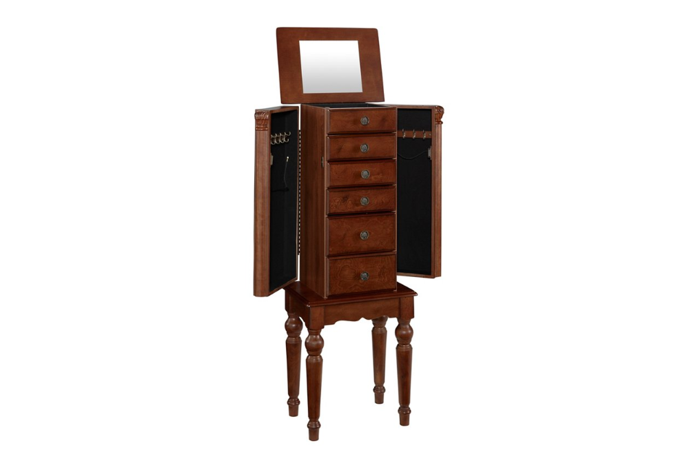 Jewelry Armoire Ashley Furniture Home, Ashley Furniture Mirror Jewelry Armoire