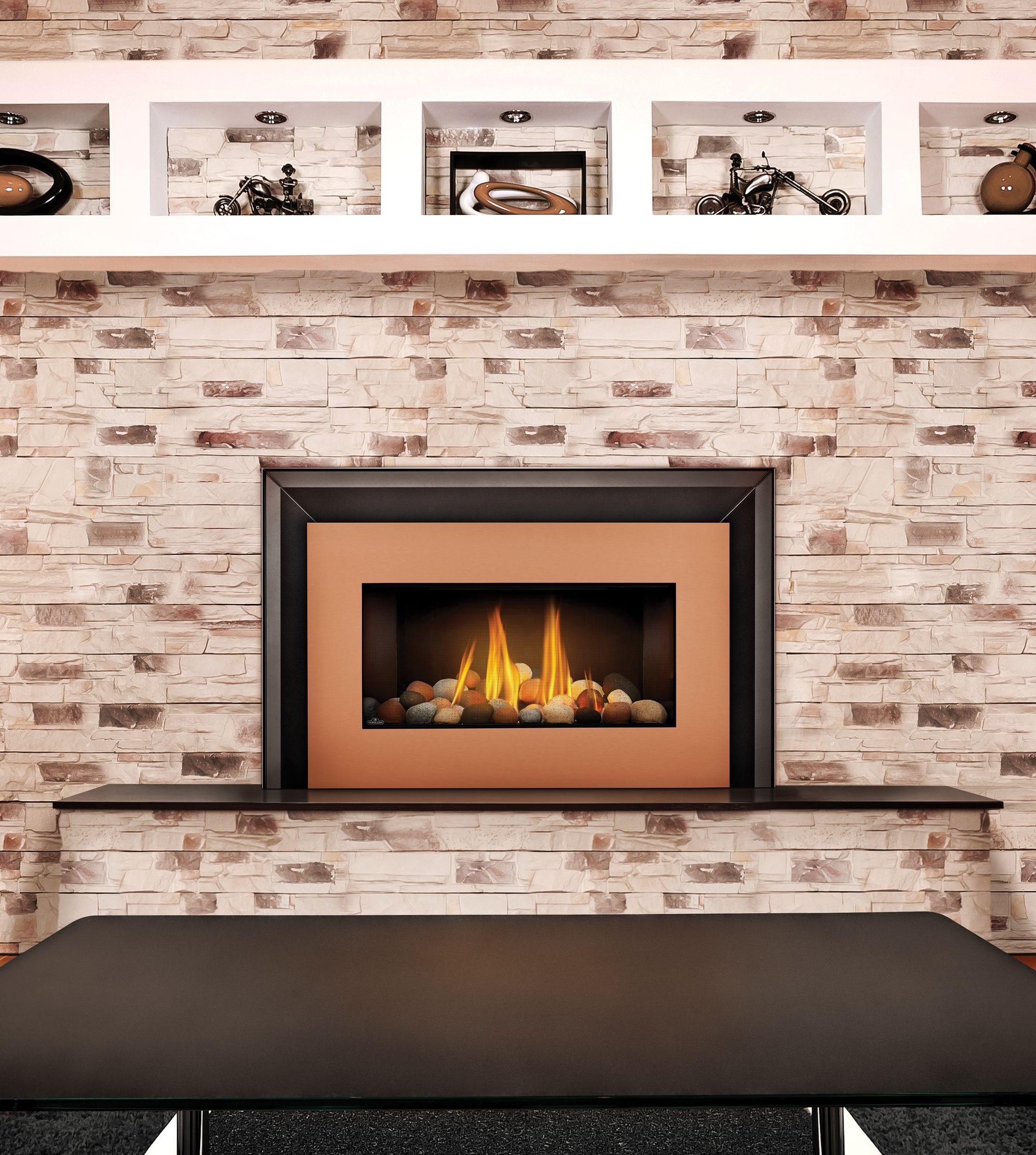 the napoleon roxbury 30 gas fireplace insert easily transforms