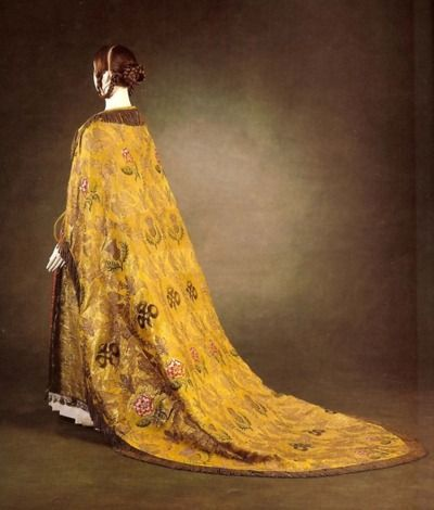 Dalmatica worn by Queen Victoria at her coronation, June 28, 1838