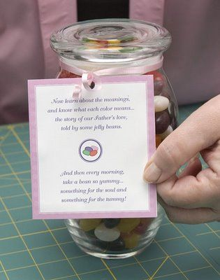 The easter story with jelly beans directions and video tutorial instead of an easter basket that the easter bunny leaves try this easter jelly bean storya great way to share the real meaning of easter along wa negle Images