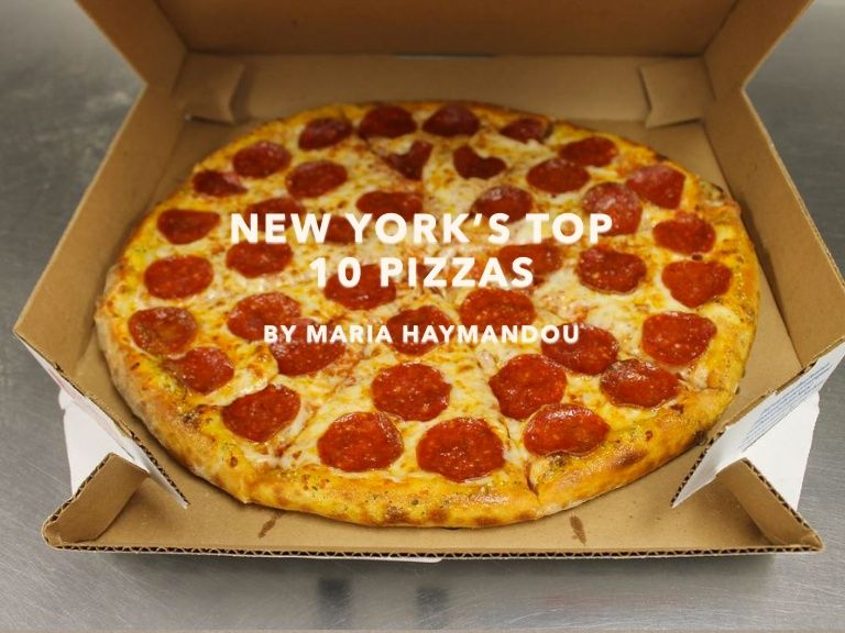 New York City is the home to some of the best #pizza in the world, and here are some of the best places to try it