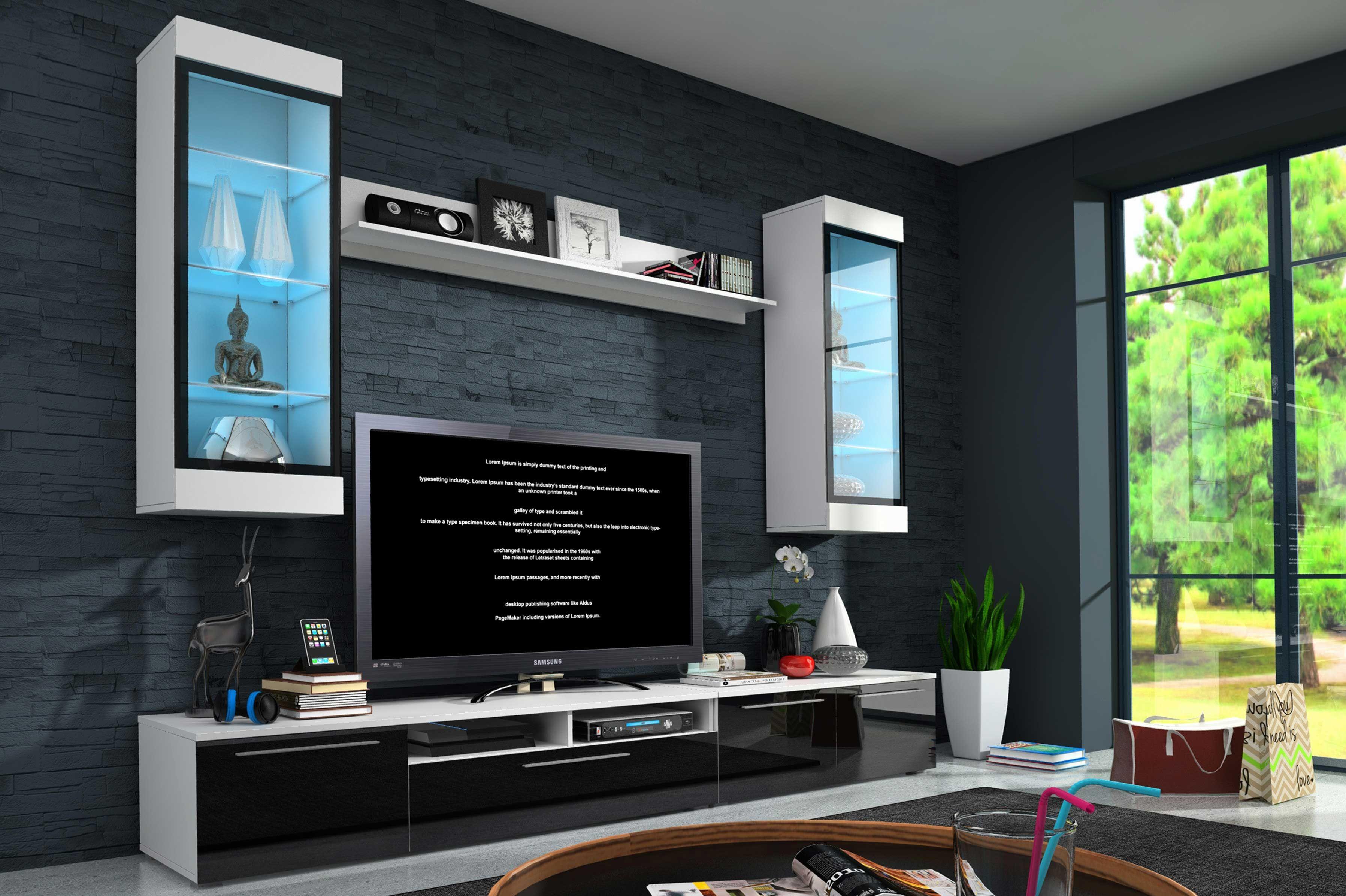 meuble tv mural pas cher meuble tv