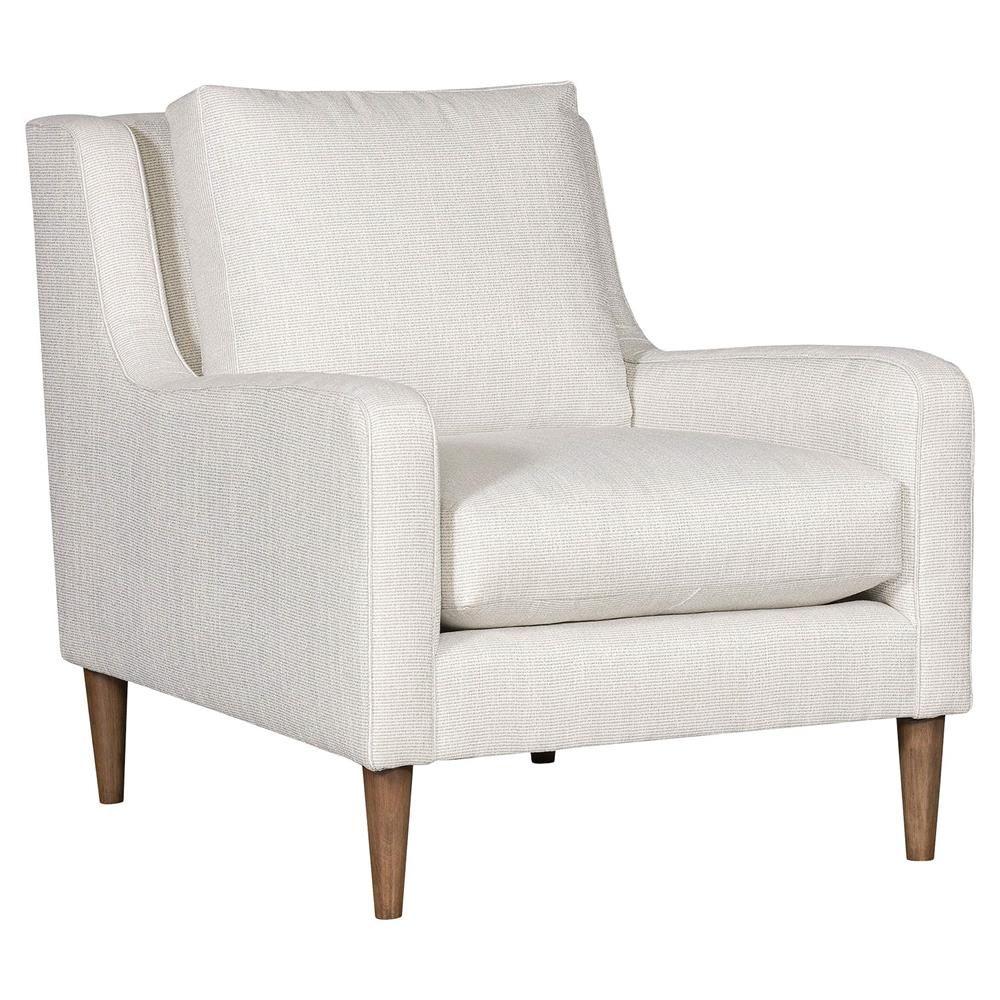 Vanguard Josie Modern Classic White Upholstered Arm Chair In 2020 White Upholstered Chair White Armchair Upholstered Arm Chair
