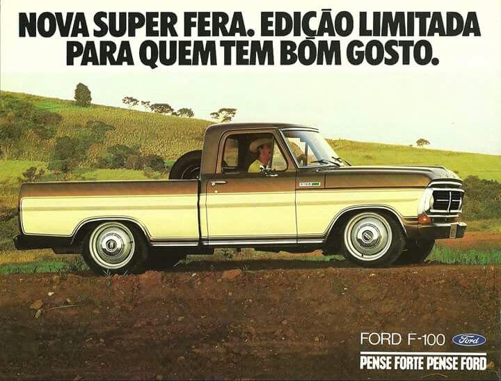 Ford F-100 - Brasil