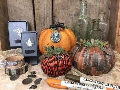 Richele Christensen: Easy DIY Pumpkins - Idea-ology style!