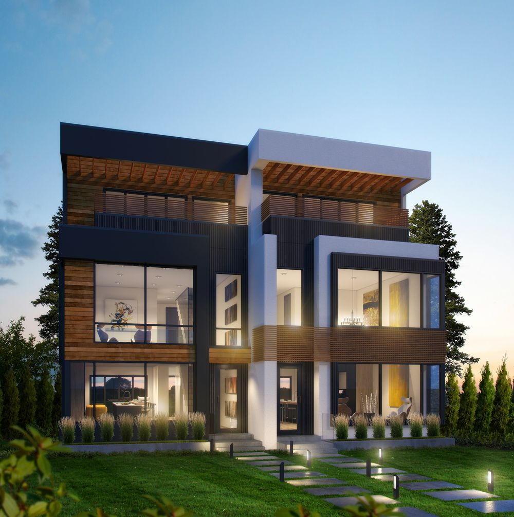 Beyond homes together with for Duplex project