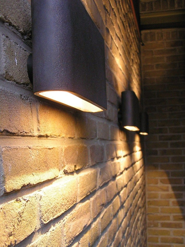 outdoor house lighting ideas. Another Example Of Up And Down Lights. I Like These Best As They Are Wider Outdoor House Lighting Ideas A