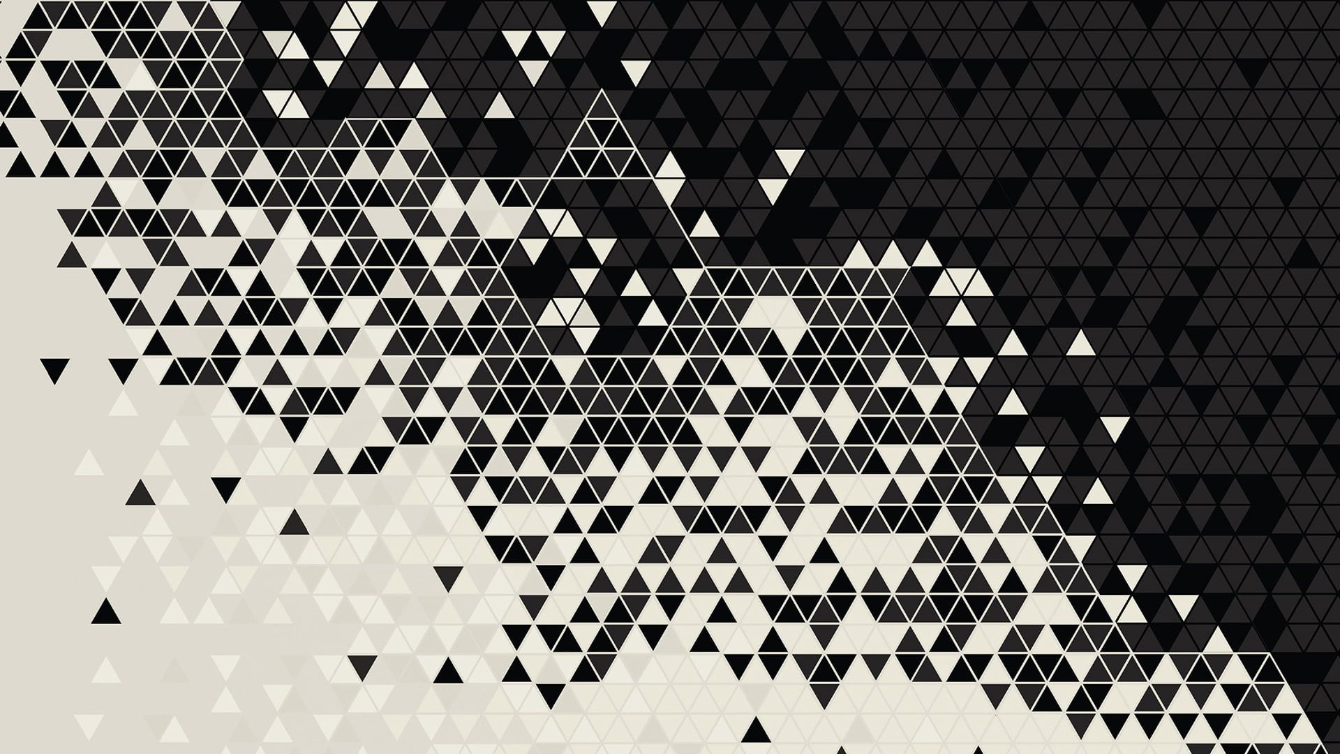 White And Black Abstract Wallpaper Pattern Digital Art Triangle 1080p Wallpaper Hdwallpaper D Abstract Wallpaper Abstract Iphone Wallpaper Black Abstract