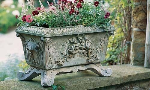 Stone Garden Planters And Troughs Victorian trough and support stone planter planters victorian and victorian trough and support stone planter workwithnaturefo