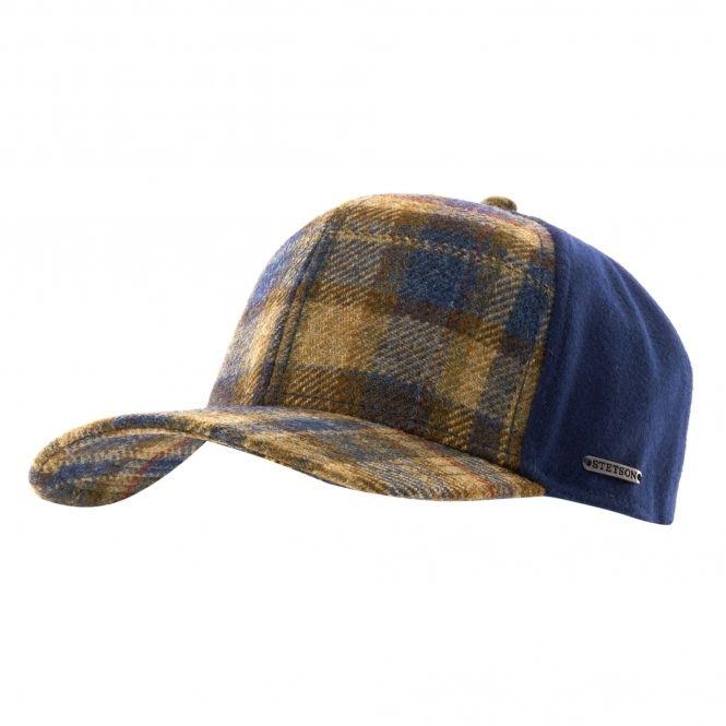 feeb068d Stetson Hats Virgin Wool Trucker Cap - Blue Check in 2019 | Stetson ...