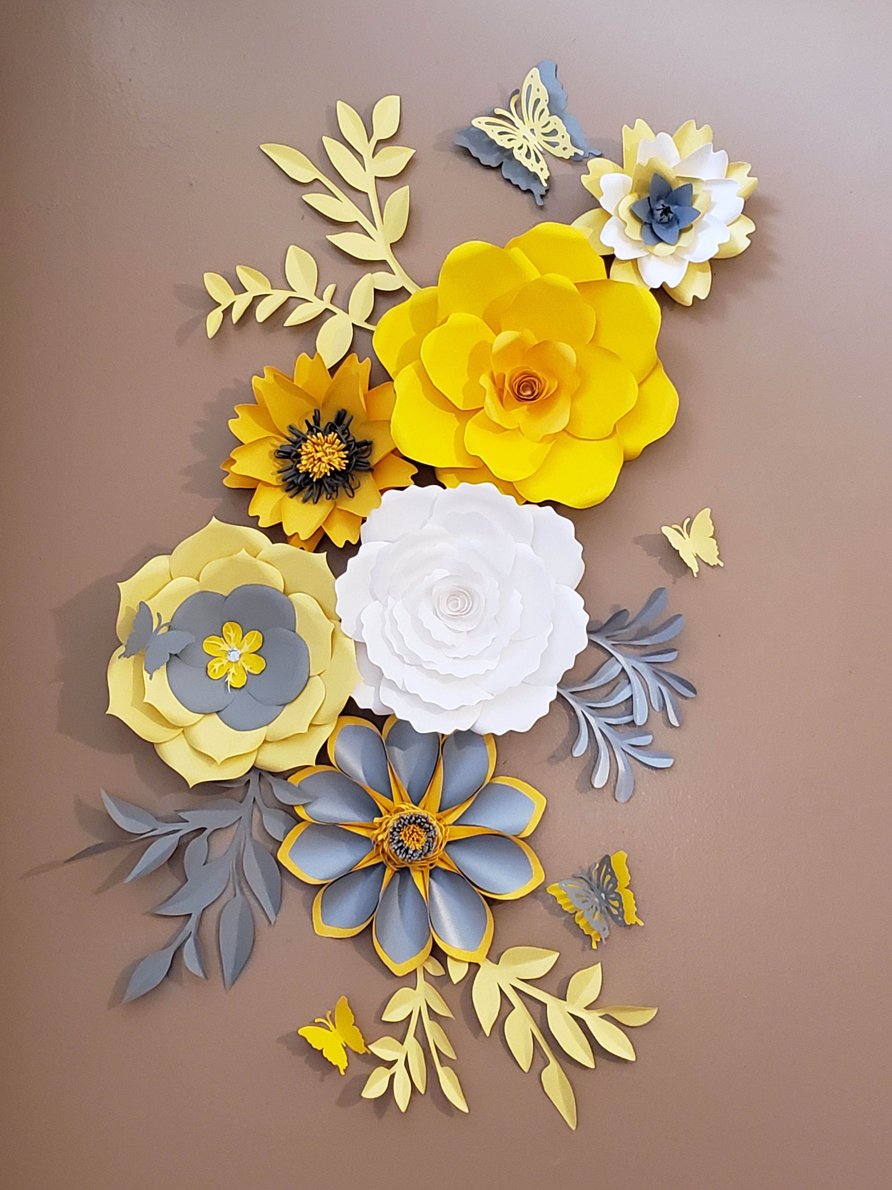 Pin On Paper Wall Backdrops Flowers