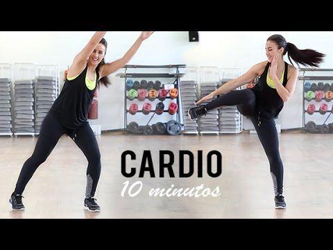 Rutina De Cardio De 10 Minutos Ideal Para Principiantes Ejercicios De Cardio Rutinas De Ejercicio Rutinas De Entrenamiento