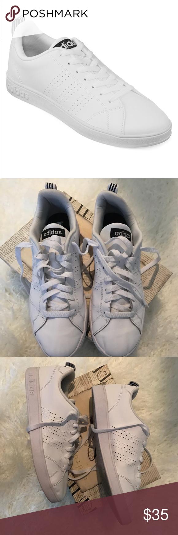 Adidas NEO Men's Advantage Clean VS Lifestyle shoe   Adidas neo ...