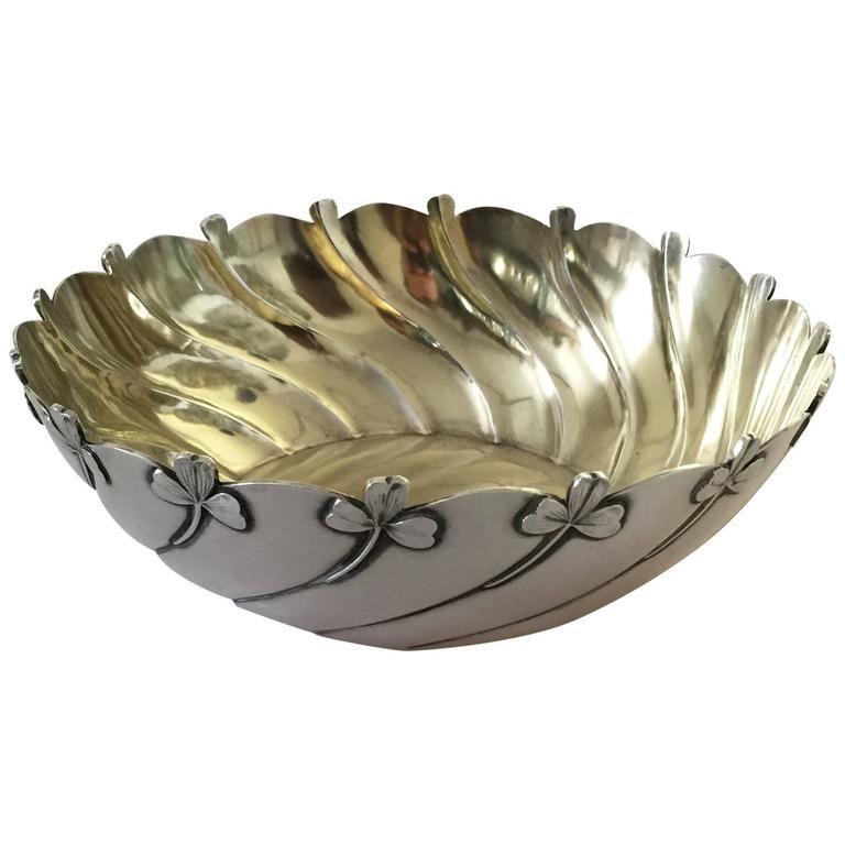 Unique Decorative Bowls Alluring Anton Michelsen Sterling Silver Art Nouveau Decorative Bowl Inspiration