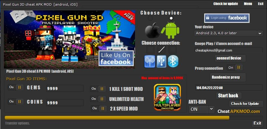 Pin on Pixel Gun 3D hack cheat mod DOWNLOAD gems and coins