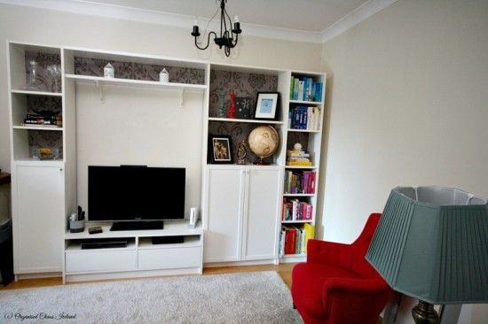 Transforming a living space – Boring BILLY to a cosy cabinet - IKEA Hackers