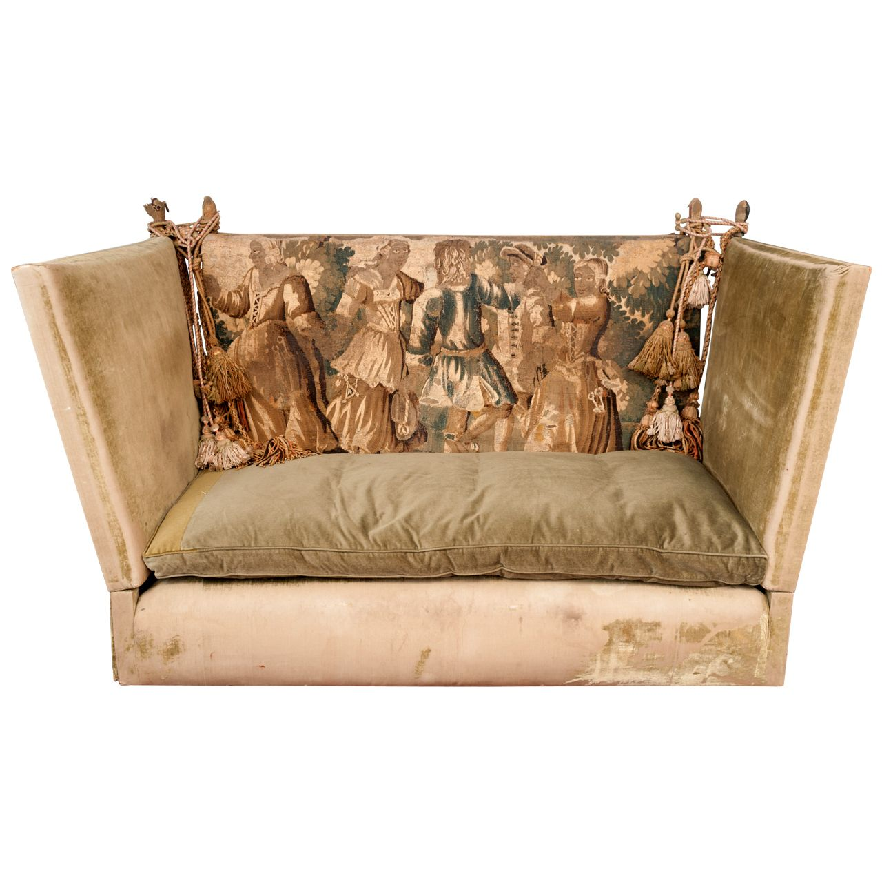 1stdibs Sofa Knowle Tapestry Back Vintage Sofa Sofa