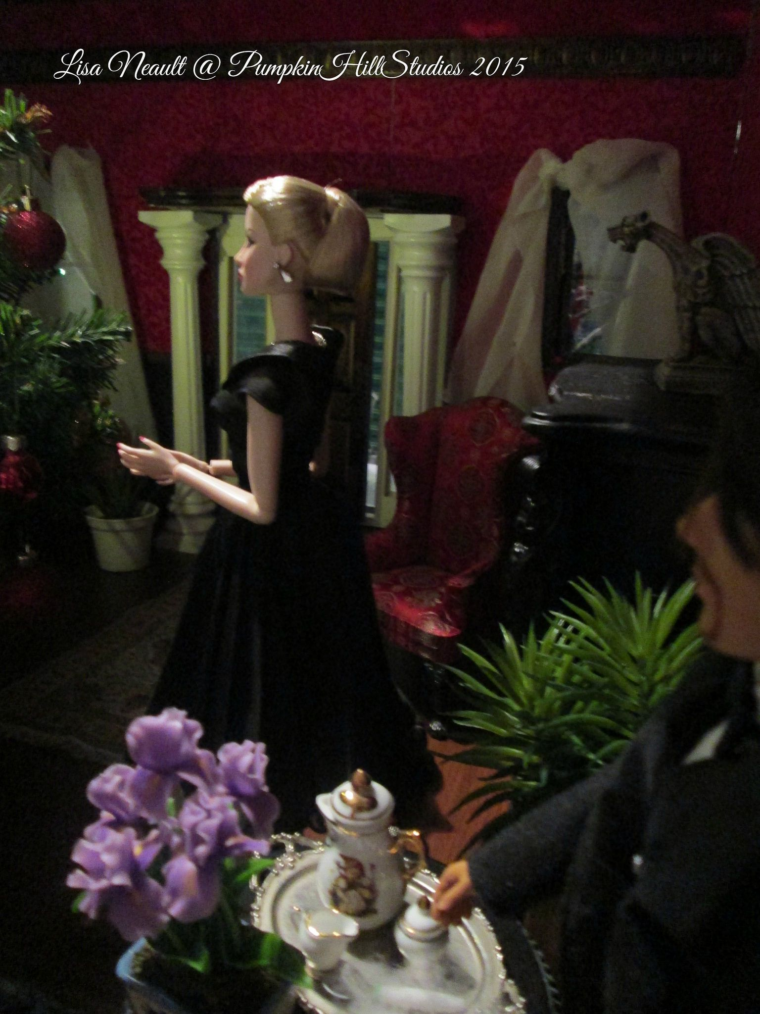 Visit my blog at the One Sixth Scale dollhouse http://theonesixthscaledollhouse.blogspot.com & Follow me!