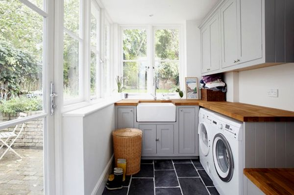 Inspiring Bright Laundry Room Designs